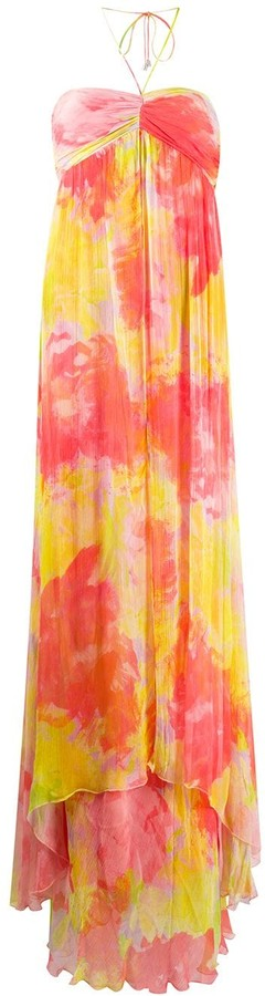Pinko Tie-Dye Maxi Dress