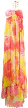 Pinko Tie-Dye Maxi Dress
