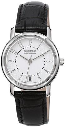 Dugena Premium Women's Quartz Watch Rondo Petit Arabica 7000134 with Leather Strap