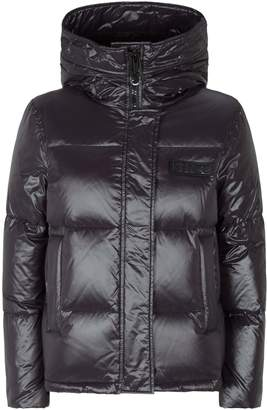 Kenzo Logo Patch Quilted Puffer Jacket