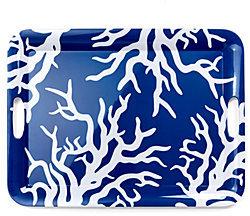 C. Wonder Coral Melamine Tray