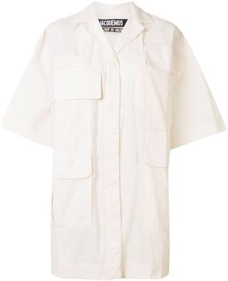 Jacquemus La Robe Vallon shirt dress