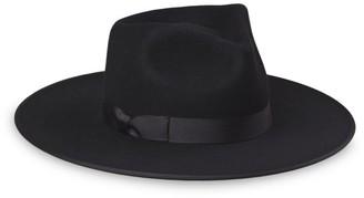 LACK OF COLOR Noir Wool Rancher Hat