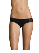 Red Carter Side Tab Classic Hipster Bikini Bottom