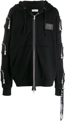 Faith Connexion NTMB oversized zip-up hoodie