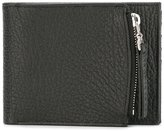 Maison Margiela zip compartment billfold wallet - men - Leather - One Size