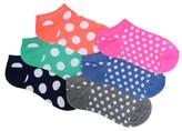 Famous Footwear Kids' 6 Pack Dots No Show Socks