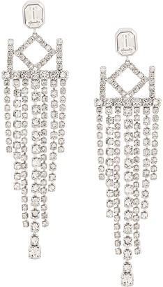 Karl Lagerfeld Paris K/Crystal Chandelier Earrings