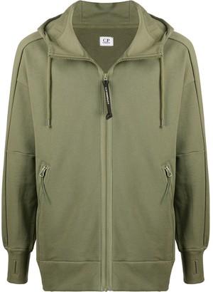 C.P. Company Goggle-Hood Zip-Through Hooded Sweatshirt