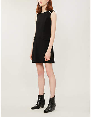 Claudie Pierlot Renzoh crepe mini dress