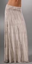 Long Full Tie Dye Skirt