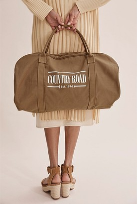 Country Road Heritage Zip Logo Tote