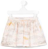 Hucklebones London - giraffe plains print skirt - kids - Silk - 2 yrs