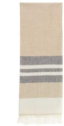 Magaschoni Linen Colorblocked Throw