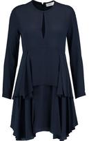 A.L.C. Vicky Tiered Silk-Crepe Mini Dress