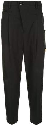 Education From Young Machines cropped tapered trousers