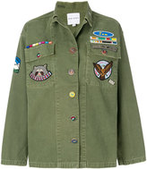 Mira Mikati Jacket With Field Scout Patches