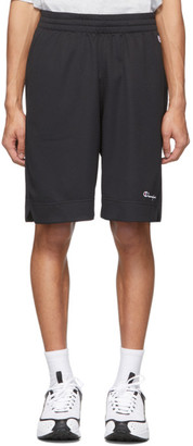 Champion Reverse Weave Black Mesh Basketball Shorts