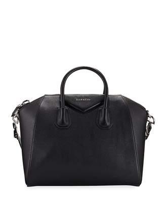 Givenchy Antigona Studded Leather Satchel Bag