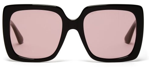 2e558f86078 Gucci Pink Women s Sunglasses - ShopStyle