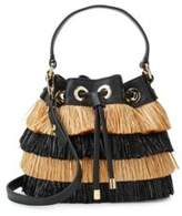 Milly Fringed Bucket Bag