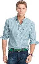 Izod Tattersall Button-Down Shirt