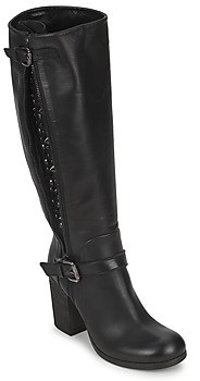 JFK SEMATA women's High Boots in Black
