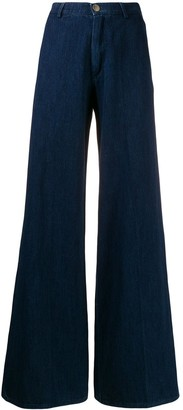 Forte Forte High-Rise Wide-Leg Jeans