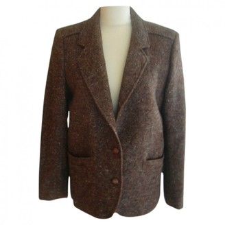 Ted Lapidus Brown Wool Jackets