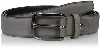 Bugatchi Men's Nubuck Leather Belt
