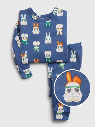 Star Wars babyGap | Bunny Graphic Organic Cotton PJ Set