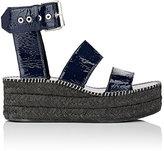 Rag & Bone Women's Tara Patent Leather Wedge Sandals