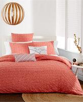 "Bar III Box Pleat Sunset 14"" x 20"" Decorative Pillow"