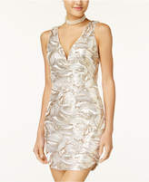 As U Wish Juniors' Sequined Bodycon Dress