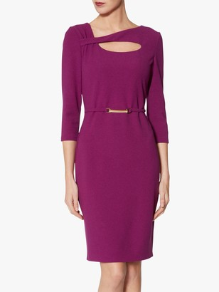 Gina Bacconi Dafne Crepe Dress