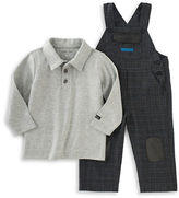 Calvin Klein Two-Piece Polo and Overall Set
