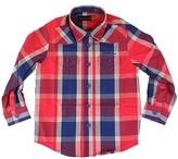 Ben Sherman Kid's Jester Plaid Shirt