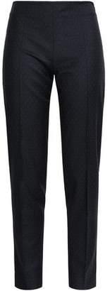 Antonio Berardi Wool-jacquard Tapered Pants