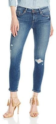 Paige Women's Verdugo Crop Jeans Ramona Destructed