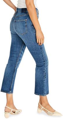 ÉTICA Josie Cropped Flare-Leg Jeans