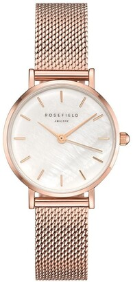 ROSEFIELD 26WR-265 The Small Edit Rose Gold Watch