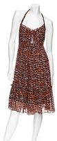Milly Koi Fish Halter Dress