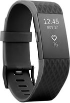Fitbit Charge 2 Black Strap Heart Rate + Fitness Wristband Small - Special Edition