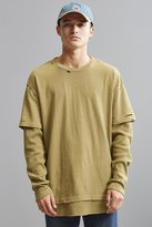 Urban Outfitters Scout Layered Thermal Long Sleeve Tee
