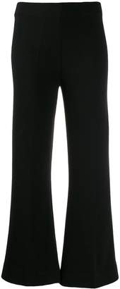 Circus Hotel cropped flared trousers