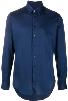 Giorgio Armani Long-Sleeve Cotton Shirt