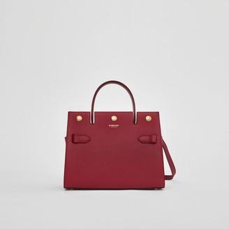 Burberry Mini Leather Title Bag