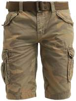 Schott Nyc Battle Shorts Camo Kaki