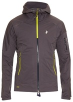 Peak Performance Shield Zip-through Hooded Nylon Jacket