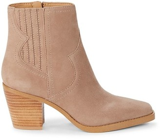 Lucky Brand Jaide Western Leather Booties